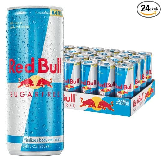 24-Pack 8.4oz Red Bull Energy Drink (Sugarfree) $24.89 or less + free shipping @ Amazon