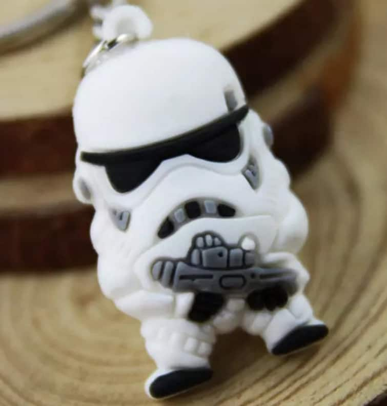 Star Wars White Stormtrooper Key Chain for $0.10 + Free Shipping