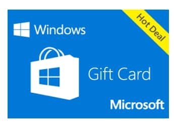 With a Microsoft Gift Card, give the freedom to pick the gift they want. It can be used to buy devices, games, software, apps, movies, and more. There are no fees or expiration dates to worry about. This digital gift code is good for purchases at Microsoft Store online, on Windows, and on Xbox.4/5(62).