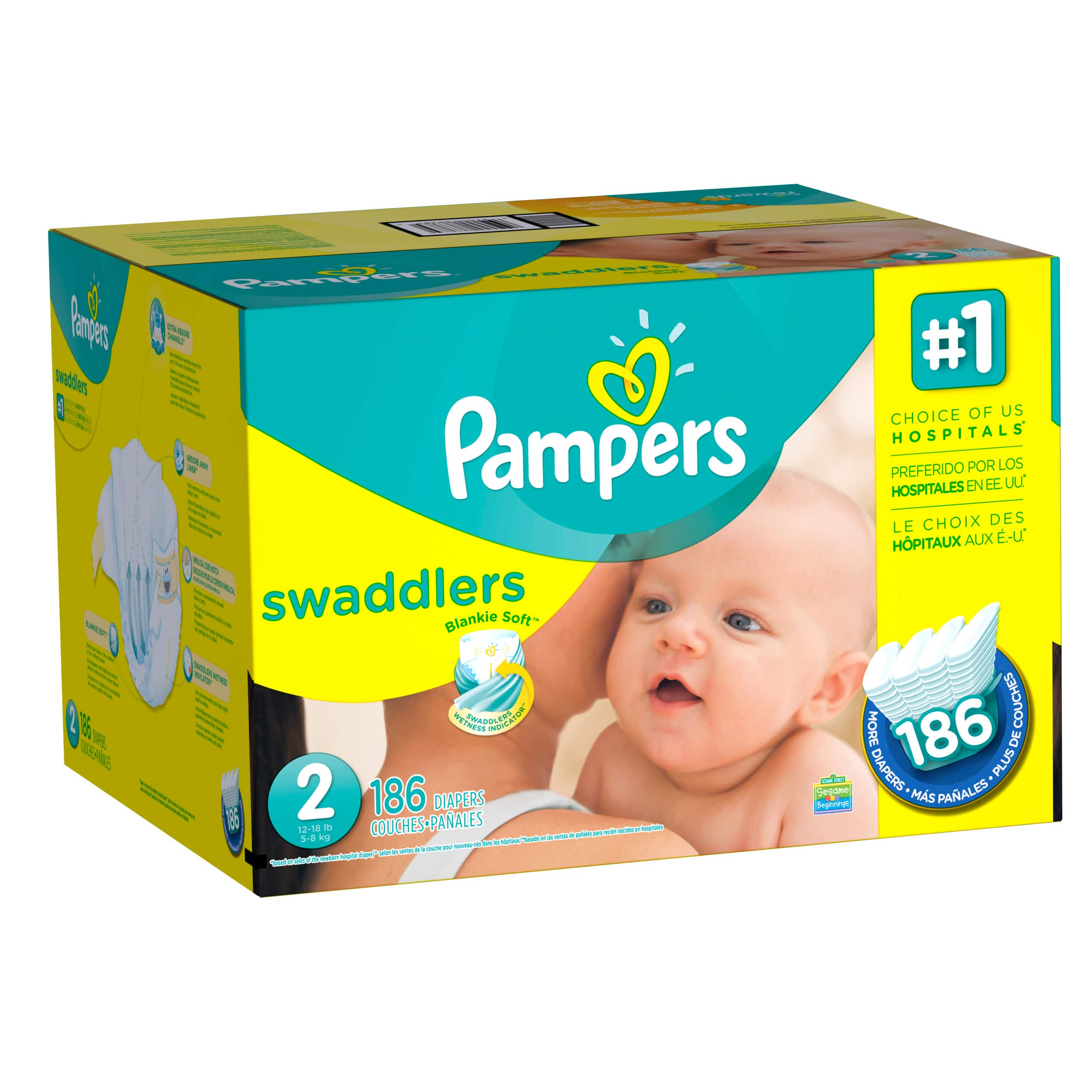 They wear size 2, and I know they dont start til size 3, but Im going to test drive a pack anyway. When my daughter was a baby, pampers didnt make an over night, and it was only huggies. So, my question is about these pampers over nights.