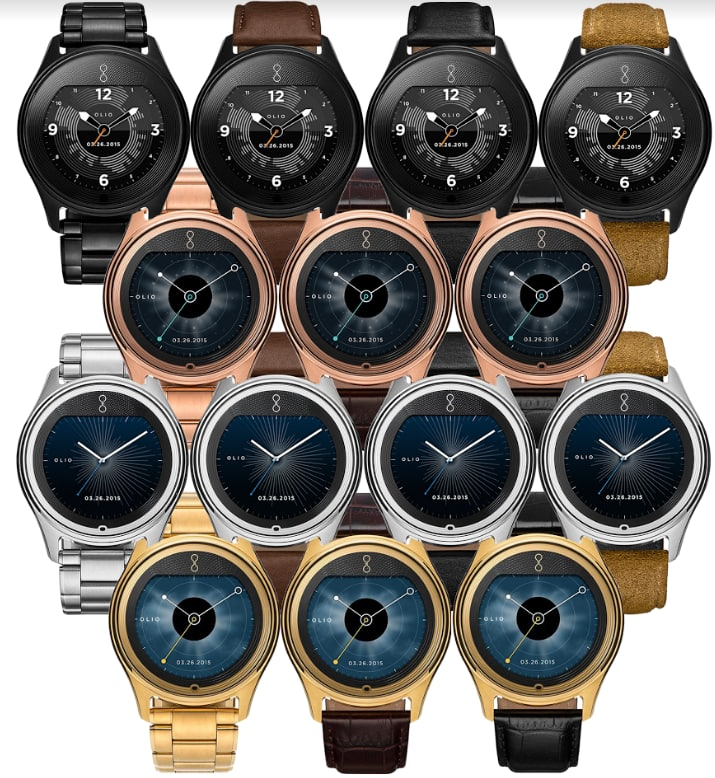 Olio 47mm Model One Smartwatch from $50 + $5 Flat-Rate Shipping