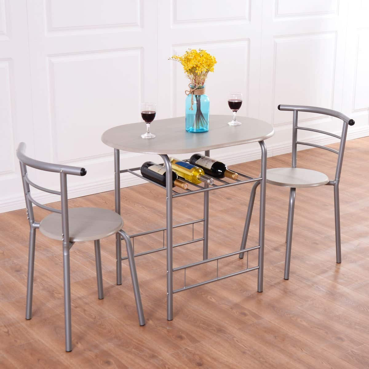Best Deals On Dining Table And Chairs: Giantex Bistro Dining Table W/ 2 Chairs