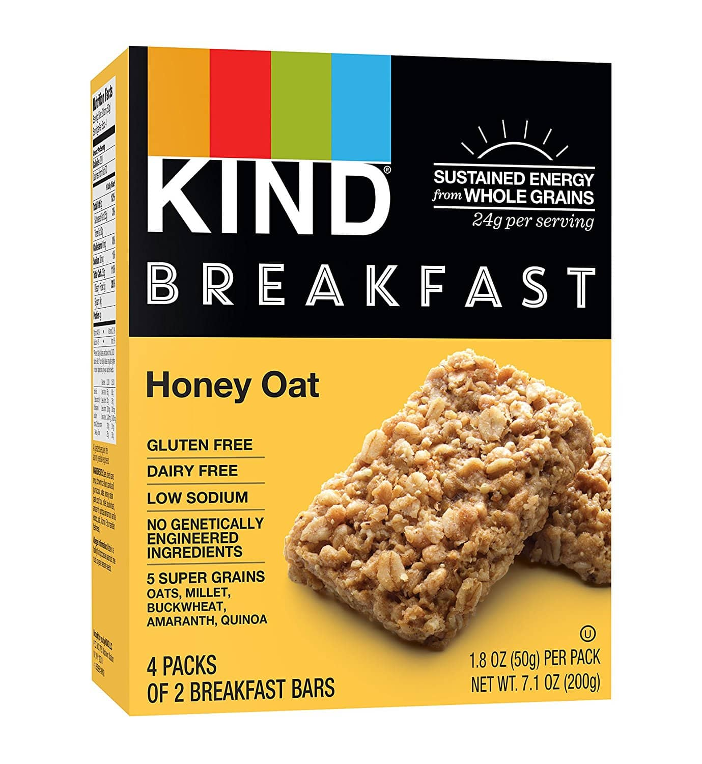 32-Count 1.8-oz KIND Breakfast Bars (Honey Oat) $13.01 w/ S&S + Free S/H (prime only)