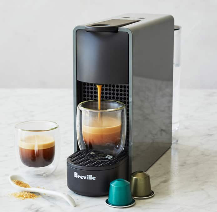 Nespresso Essenza Mini Espresso Machine by Breville (Gray or White) $74.96 + Free Shipping  @ Sur La Table