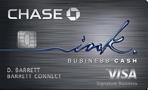 Ink Business Cash Credit Card: $300 bonus cash back after you spend $3k in the first 3 months