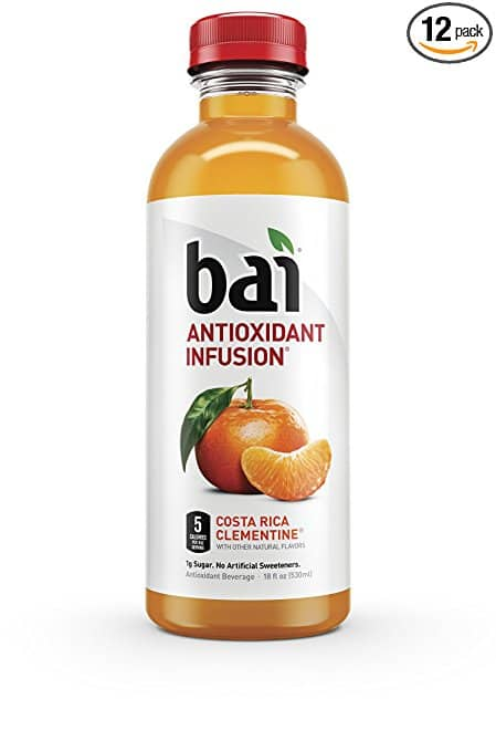 12-Pack of 18oz Bai Antioxidant Infused Beverage (Clementine) $12.58 or less w/ S&S + Free S&H