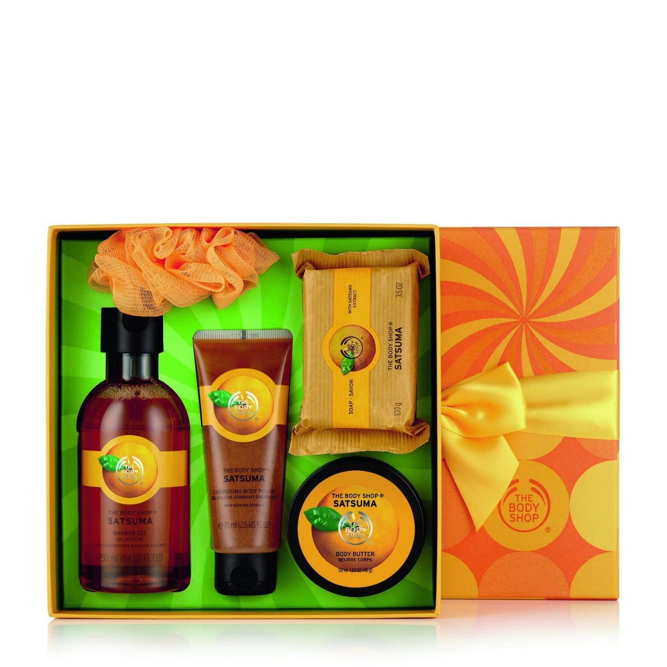 Add-on items:The Body Shop Satsuma Festive Picks Small Gift Set $4.45 & More Sale Gift Sets