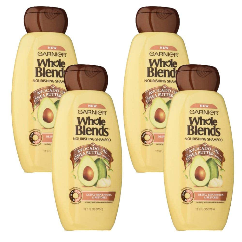 4-Pack Garnier Whole Blends Shampoo with Avocado Oil & Shea Butter Extracts $7.64 or less w/ S&S + Free S/H