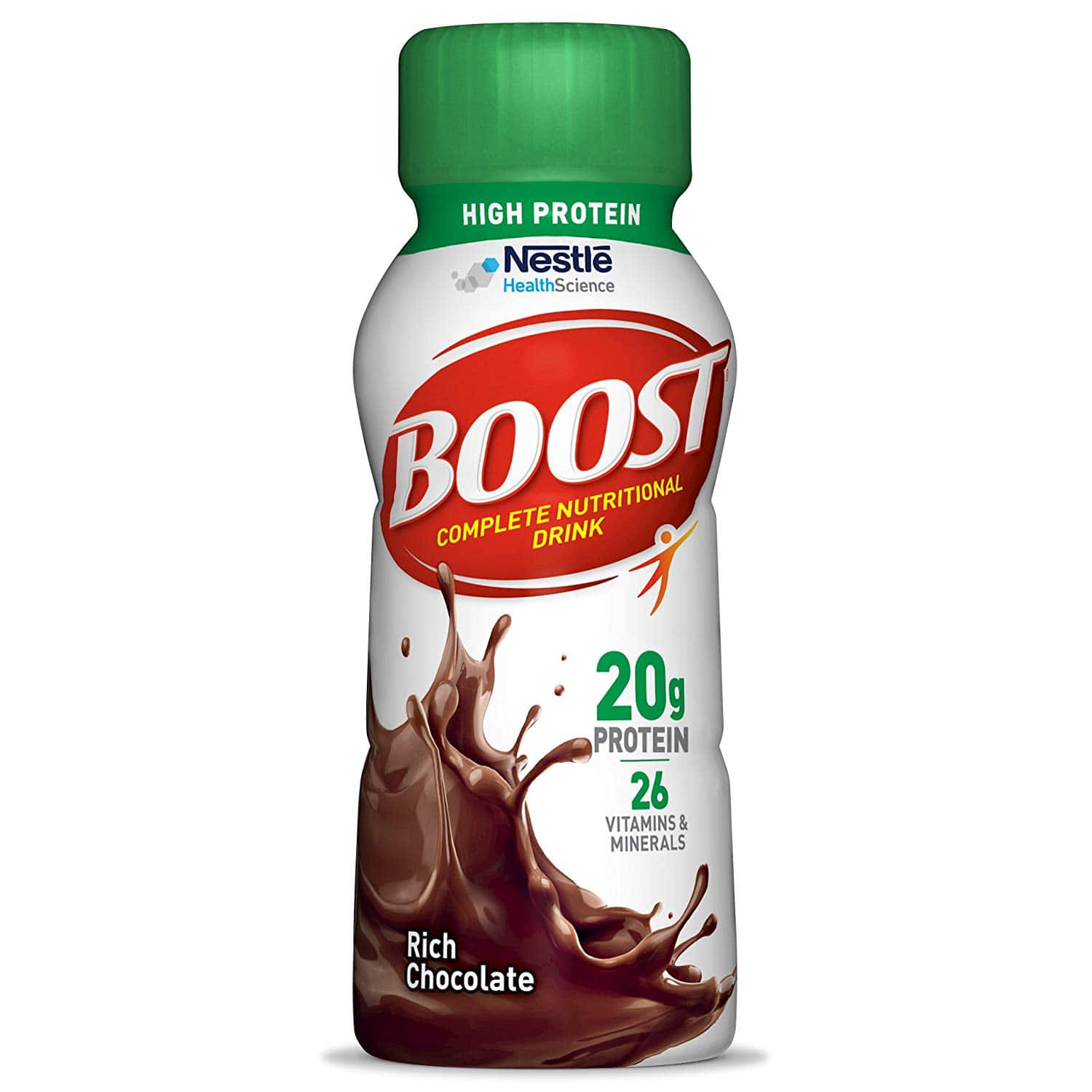 24-Pk 8oz Boost High Protein Complete Nutritional Drink (Rich ...