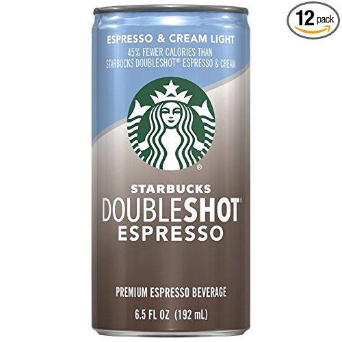 12-Ct 6.5oz Starbucks Doubleshot Beverage (Espresso + Cream Light) $11.25 or less w/ S&S + Free S/H & More