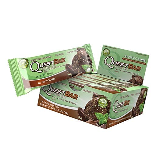 12-Ct 2.1oz Quest Nutrition Protein Bar (Mint Chocolate Chunk) $14.35 or less w/ S&S + Free S/H (& More)