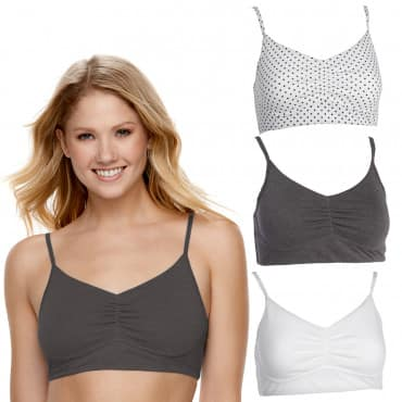 583e7f31a8 2-Pack Fruit of The Loom Soft Cotton Bra - Page 2 - Slickdeals.net
