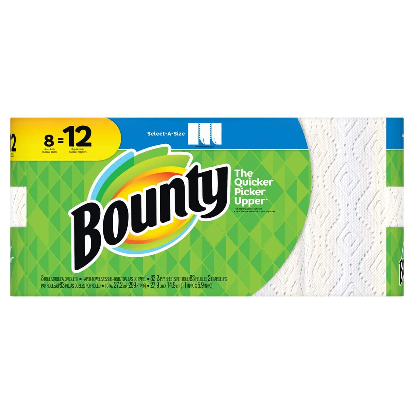 24-Ct Bounty Select-A-Size Giant Roll Paper Towels + $10 Target Gift Card $28.40 & More + Free Shipping
