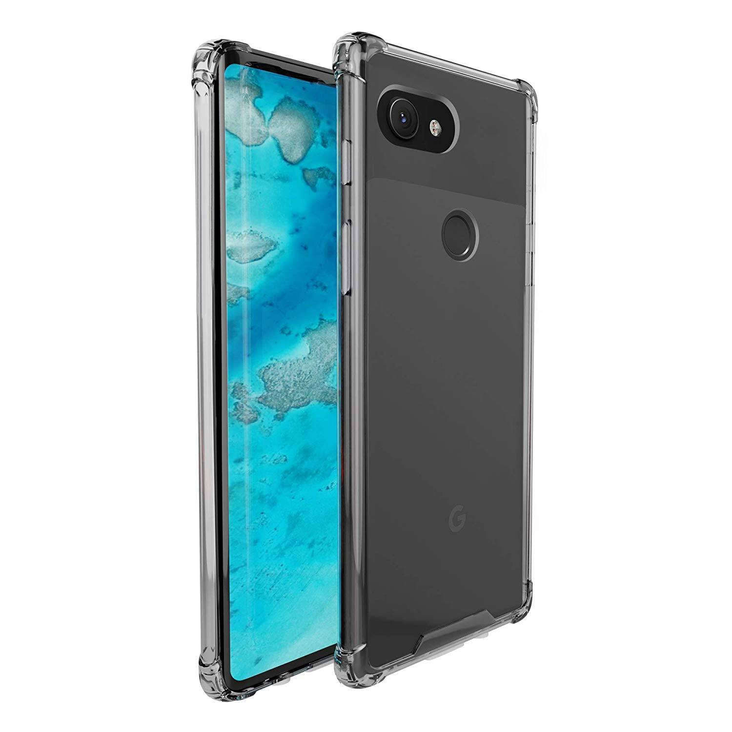 finest selection 1b9f2 f8ae8 amCase Clear Bumper Case for Google Pixel 3a XL - Slickdeals.net