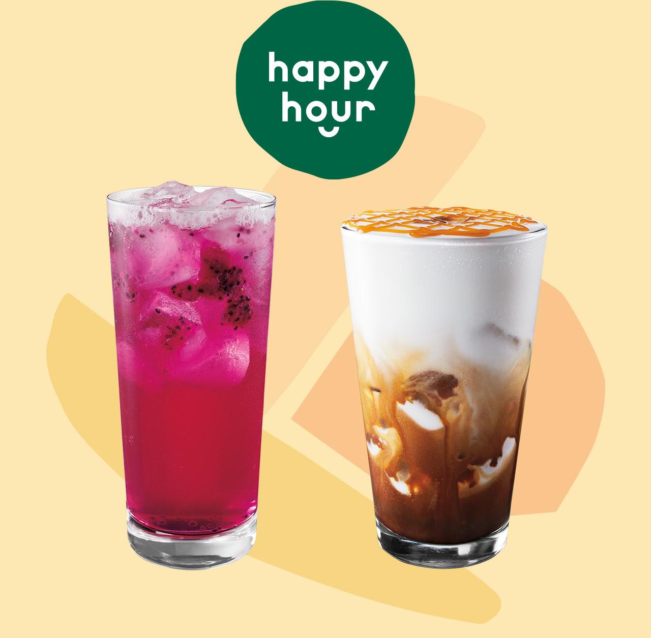 Starbucks Rewards Members: Any Iced Beverage (Grande or