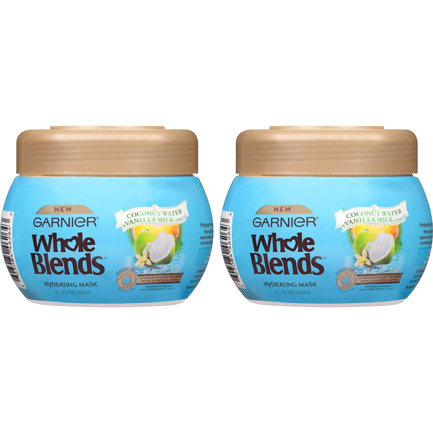2-Ct 10.1oz Garnier Hair Care Whole Blends Hydrating Hair Mask $3.84 w/ S&S + Free S/H