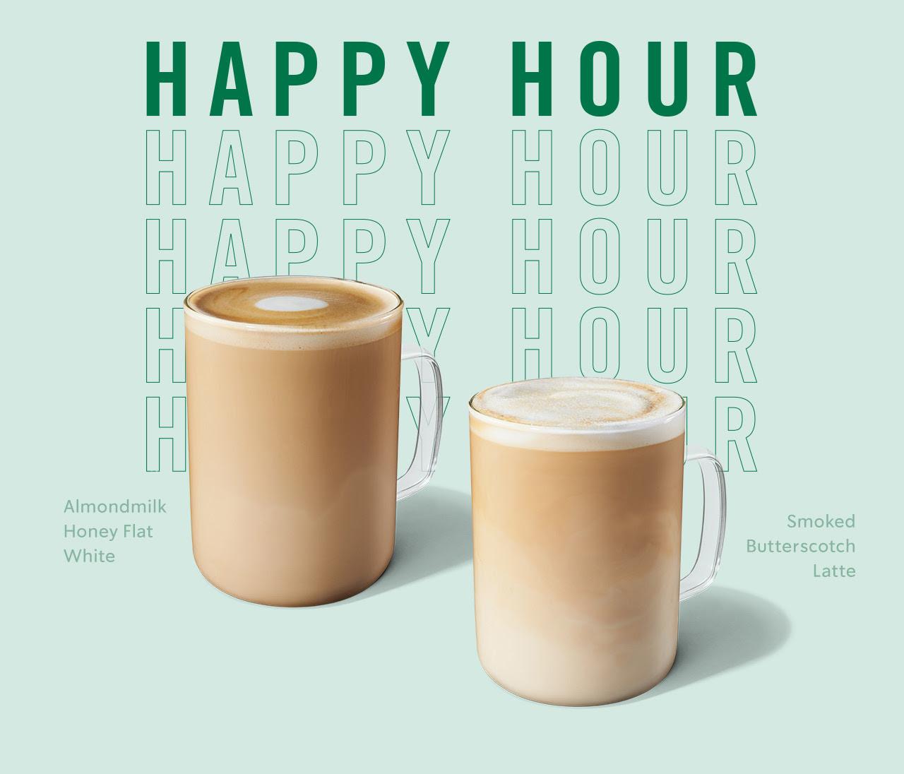 Starbucks Stores: Any Handcrafted Beverage (Grande or Larger)