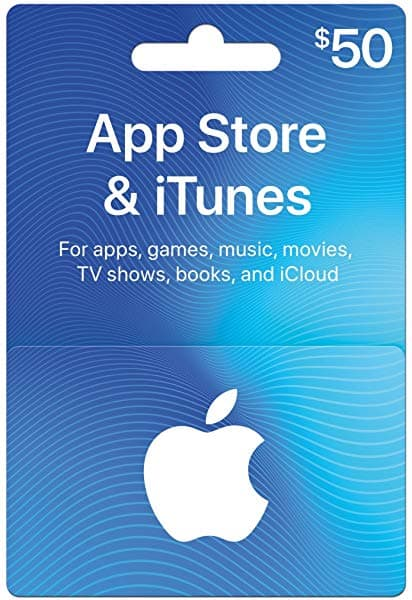 Amazon Prime : Apple App store iTunes gift card $50 for $40