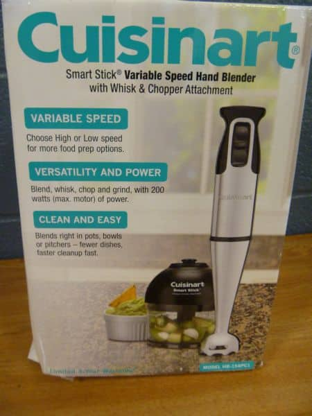 Cuisinart Variable Speed Hand Blender HB-154PC1 for $19.89 at Costco B&M