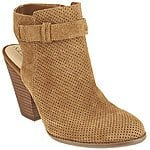 Sole Society Perforated Suede Booties - Perin $66.62 + fs @qvc.com