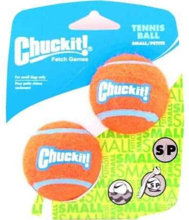 Canine Hardware Chuckit Mini Tennis Balls (2 Pack) $1.79
