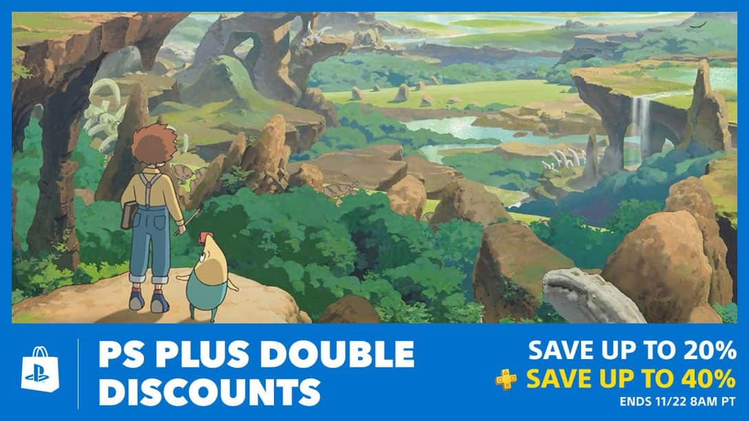 PS Plus Double Discounts at PlayStation Store