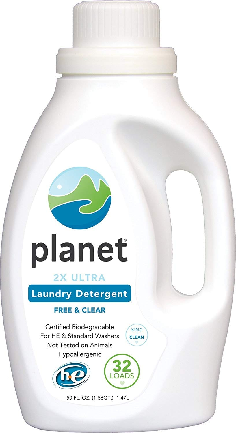 Planet 2x HE Ultra Laundry Liquid Detergent (Pack of 4) $23.96 or $20~ S&S