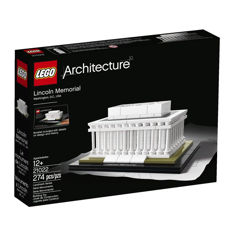 LEGO Architecture Lincoln Memorial Model Kit $21