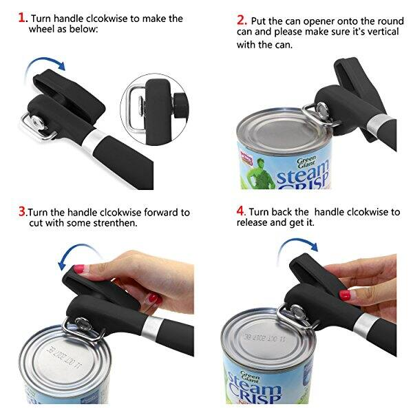 $7AC @Amazon ONME Can Opener, Manual Can Jar Opener, Smooth Edge Can Opener, Stainless Steel Can Opener