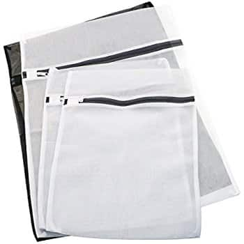 $6.74AC@Amazon Homga Delicates Laundry Wash Bags, Lingerie Bags for Laundry, Laundry Bra Lingerie Mesh Wash Bag for Blouse, Hosiery, Stocking, Underwear, Bra and Lingerie, Set of 4