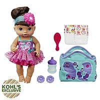 Kohls Deal: Baby Alive Twinkle Fairy Doll Set [Various Styles] $13.99 (Reg. $55) + Free Shipping @ Kohl's For Charge Card Holders