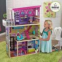 Walmart Deal: KidKraft Super Model Dollhouse With Furniture $65 (Reg. $99) + FREE SHIPPING @ Walmart
