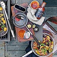 Williams-Sonoma Mesh Fry Pan $  4.49 + FREE SHIPPING