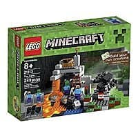 Amazon Deal: LEGO Minecraft Creative Adventures The Cave 21113 $15.99 + Free Shipping w/Prime @ Amazon or Free Store Pick-Up @ Target