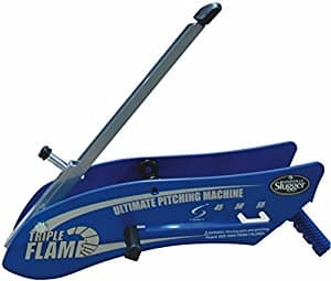 Louisville Slugger Triple Flame Pitching Machine $35 Amazon Prime