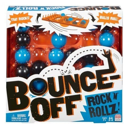 Bounce-Off Rock 'N' Rollz Game $4 Walmart