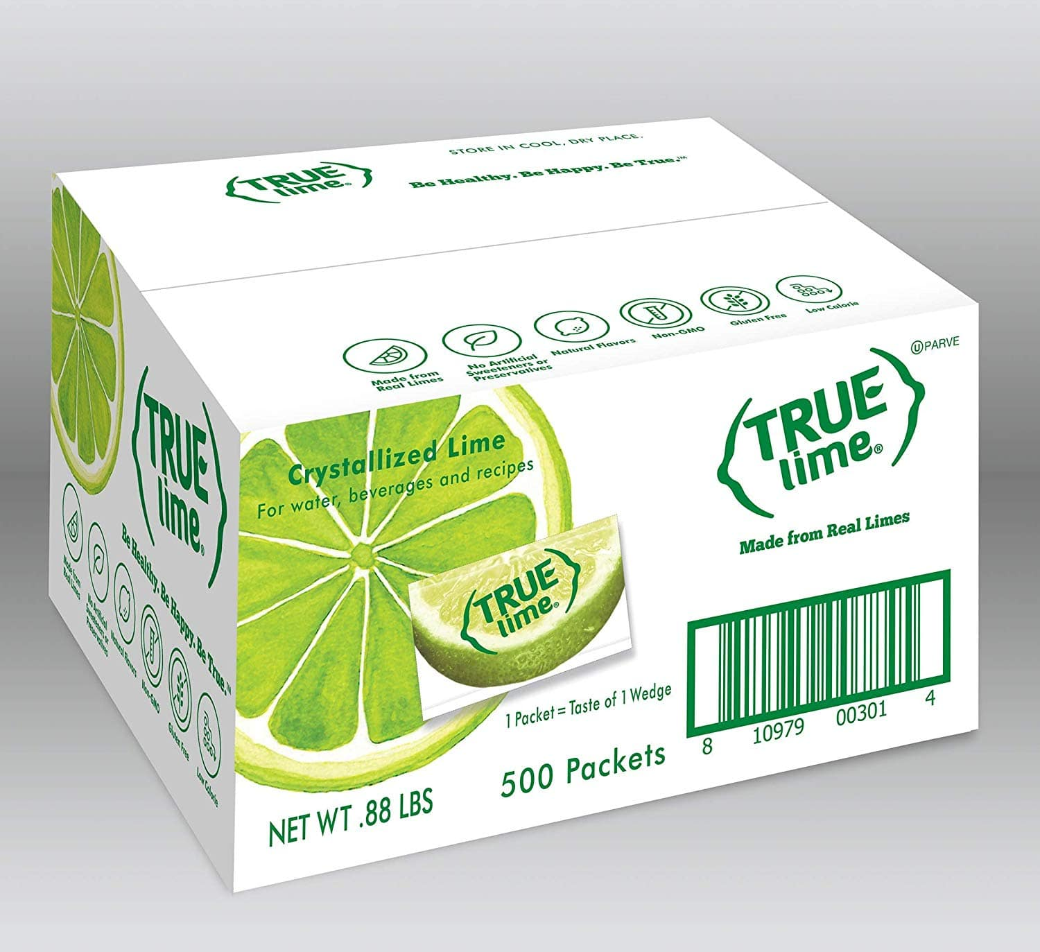 True Lime Bulk Pack, 500 Count $15.50 ($14.72 with S&S) Amazon