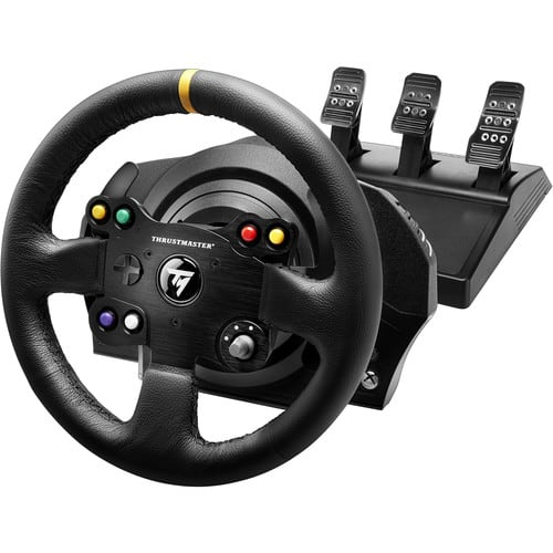 Thrustmaster TX Racing Wheel Leather Edition Racing Wheel with T3PA Pedal Set for Xbox One/PC $299.99 at B&H Photo. No Tax & Free Shipping (Tax in NY & NJ)