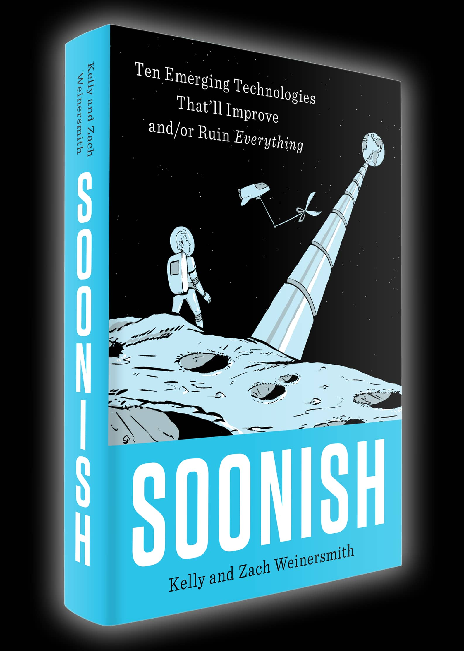 Soonish: Ten Emerging Technologies That'll Improve and/or Ruin Everything by creator of Saturday Morning Breakfast Cereal  $12.63 with coupon BOOKGIFT17 @Amazon. Normally $30!