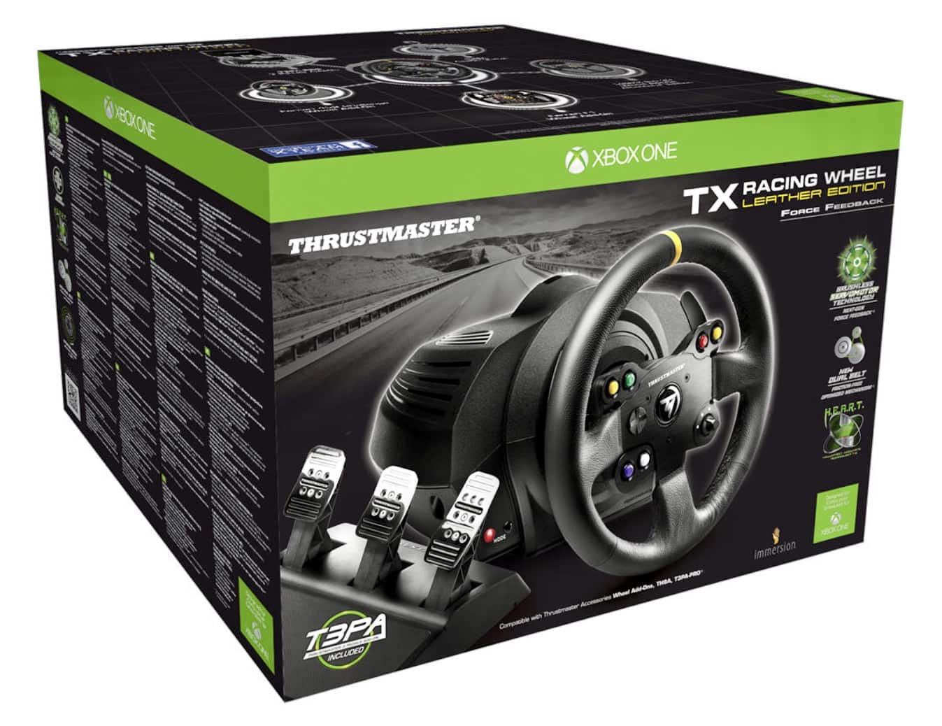 Thrustmaster TX Racing Wheel Leather Edition for Xbox One/PC or Thrustmaster T300 Racing Wheel Alcantara Edition for PS4/PC $349.99 at B&H Photo No Tax & Free Shipping