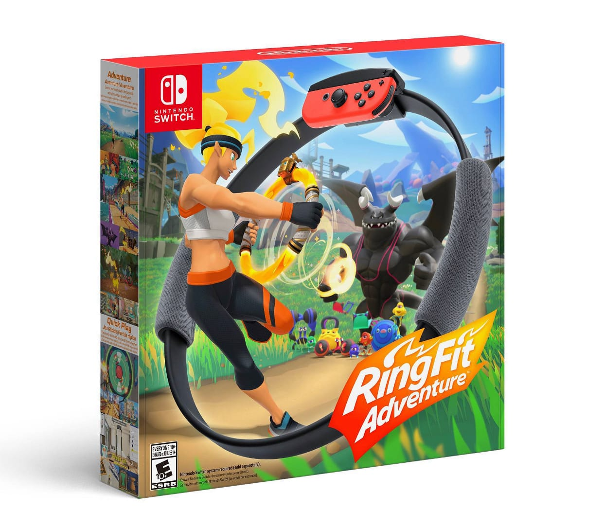 Ring Fit Adventure Nintendo Switch in Stock @ Target for shipping. $79.99 plus 5% off for Red Card