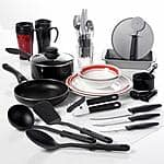 Gibson Home Complete Kitchen 38pc Set $30 @Walmart