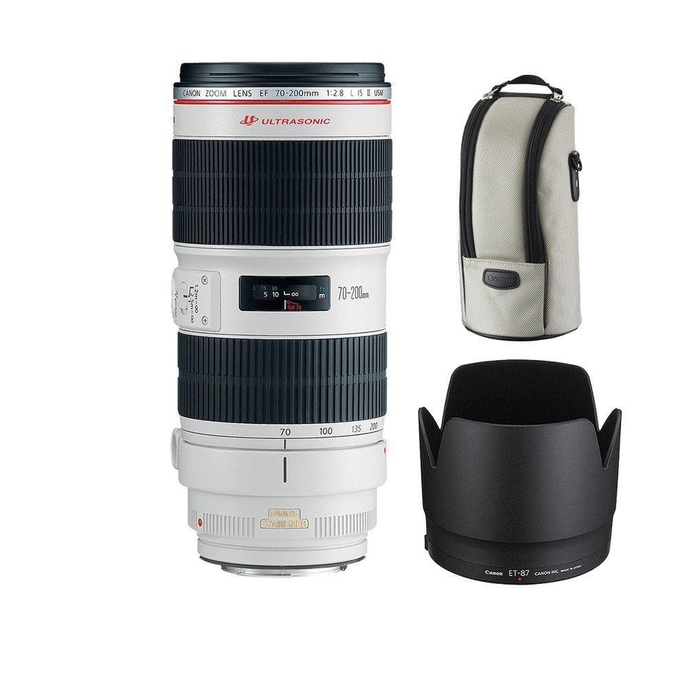 Canon EF 70-200mm f/2.8L IS II USM Lens $1549 brand new retail box, no tax, free shipping, gray market
