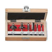 Sears Deal: Craftsman 6-PC Router Bit Set in wood case $15 and free in store pick up at Sears