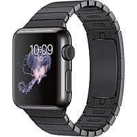 NEW Apple Watch (1st Gen) 38mm Stainless Steel Space Black w/ Link Bracelet Band $  349 @ Best Buy