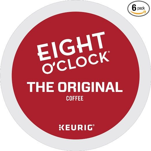 Eight O'Clock Coffee The Original Keurig Single-Serve K-Cup Pods, Medium Roast Coffee, 72 Count $16.17 at Amazon with S&S