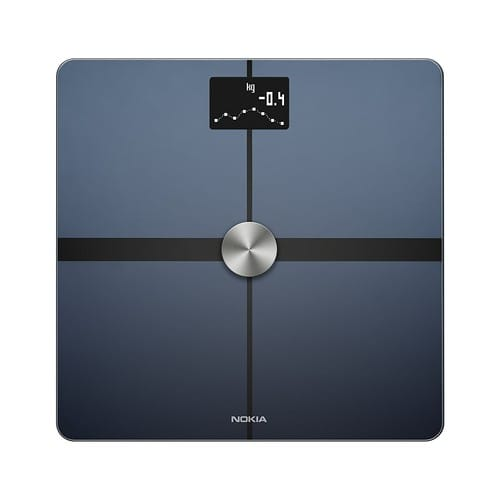 Nokia Body+ - Body Composition Wi-Fi Scale, Black $59.97