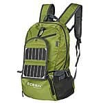 ECEEN Solar Powered Hiking Daypacks $49.99 AC + FS @ amazon