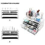 MelodySusie Cosmetic Organizer Transparent 4 Drawers Storage Box $39.99 + FS @amazon