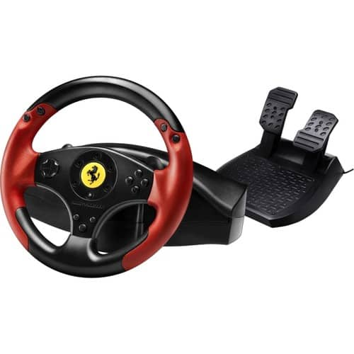 Thrustmaster Ferrari Racing Wheel - Red Legend Edition w/ Pedals - PS3/PC $52.99